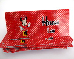 Lapela de doces Minnie