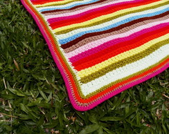 Colcha em crochet Ki-Cor