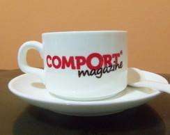 Jogo de x�cara de caf� personalizado