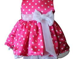 Vestidinho da Minnie Rosa