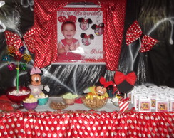 Decora��o de Festa da Minnie