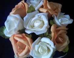 Vaso de flores emborrachada