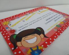 Convite Mariana da Galinha Pintadinha
