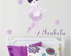 Adesivo Bailarina Lil�s