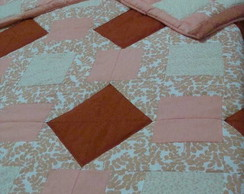 COLCHA CASAL PATCHWORK QUEEN SIZE