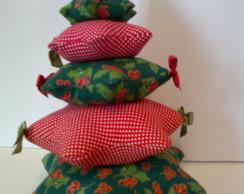 Arvore natalina de patchwork
