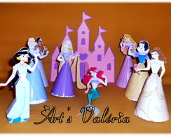 Princesas 3D - valor unit�rio