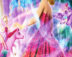 R�tulo Para Bisnaga Barbie