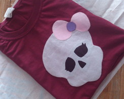 BLUSA CUSTOMIZADA MONSTER HIGH
