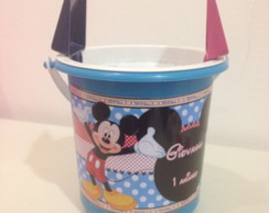 Balde De Praia Mickey e Minnie
