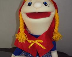 Fantoche Chap�uzinho Vermelho