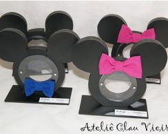 Baleiros Mickey e Minie la�os de tecido