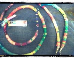 Colar/Pulseira Multicolor Summertime