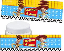 R�tulo Potinho 10x3 Cm Toy Story