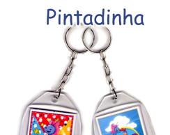 """Chaveiro Galinha Pintadinha - MODELO """"A"""""""