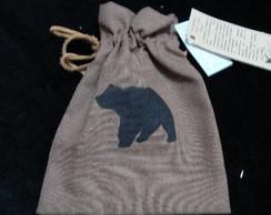 Sacola Animal de Poder urso