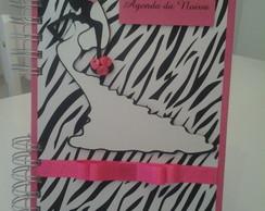 Agenda da Noiva Modelo Zebra