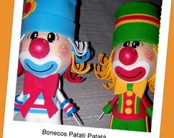 DUPLA DE BONECOS 3D PATATI PATAT�