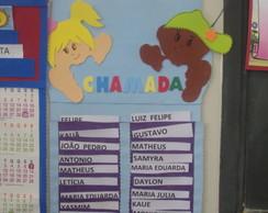 Cartaz/Painel/Chamada/Nomes//Escola