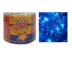 Pisca Alternado LED Azul 100L