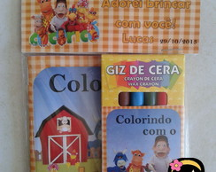 Kit Colorir c/Salopeta Cocoric�001