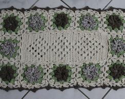 Tapete Retangular - 12 Flores