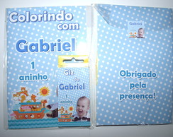 Kit Colorir Arca de No�