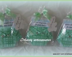 Convite Fraldinha verde