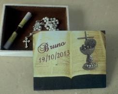 Caixa De Madeira Tipo B�blia
