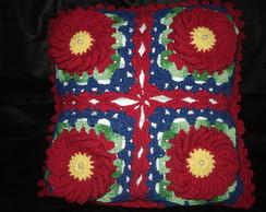 Capa para Almofada em Croch�