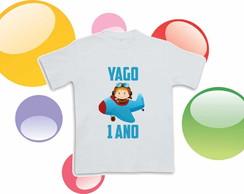 Camiseta Anivers�rio Aviador