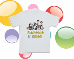 Camiseta Anivers�rio Toy Story