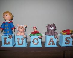 CUBOS COM LETRAS DO PEQUENO PR�NCIPE