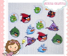 Aplique Angry Birds Space