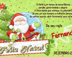 Cart�o de Natal - 02