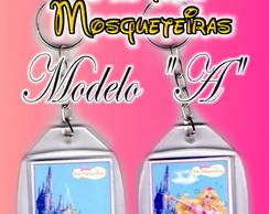 "Chaveiro Barbie Mosqueteiras -Modelo ""A"""