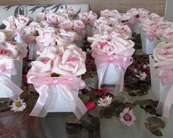 Mini-vasinho com 4 rosas I