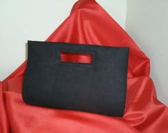 Bolsa camur�a com al�a vazada