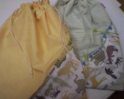 2  Saquinho de roupa suja/molhada SAFARI