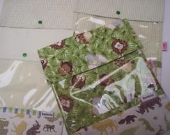 4 p�s..Saquinhos de maternidade safari