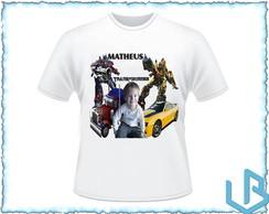 Camisetas com foto personalizada