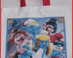 Eco Bag Smurfs
