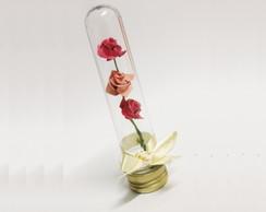 3 Rosas em Tubinho - Lembrancinha
