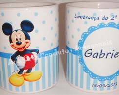 Caneca Ceramica Minnie e Mickey