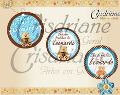 Tag circular Ursinhos