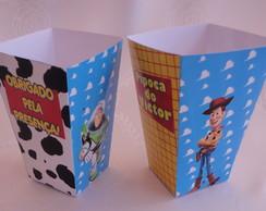 Caixinha Pipoca Toy Story