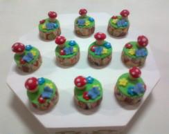 Cupcake Jardim Encantado  (tamanho Mini)