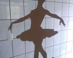 Bailarina Mdf Em P� 2