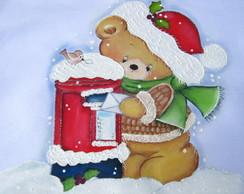 Pano de copa natalino