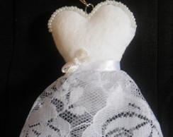 Chaveiro Vestido De Noiva - 02